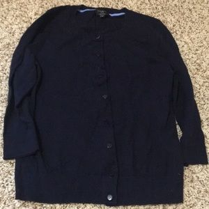 Talbots Pima Cotton Cardigan